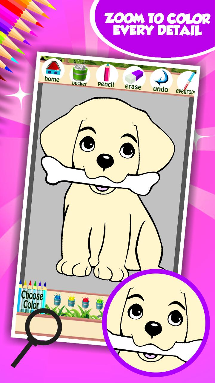 Buku Mewarnai Anjing For Android APK Download