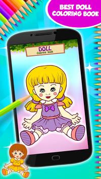 Doll Coloring Book poster