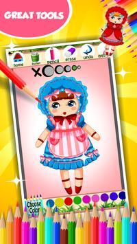 Doll Coloring Book screenshot 12