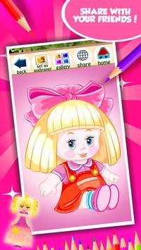 Doll Coloring Book screenshot 14