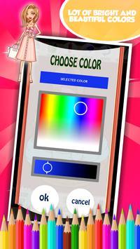 Fashion Girl Coloring Book screenshot 5