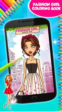 Fashion Girl Coloring Book screenshot 8