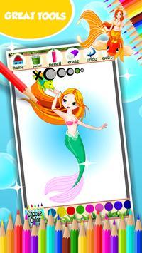 Mermaid Coloring Book screenshot 12