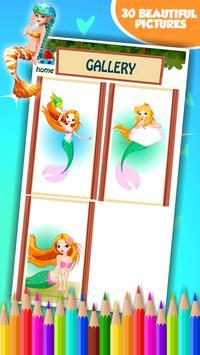 Mermaid Coloring Book screenshot 15