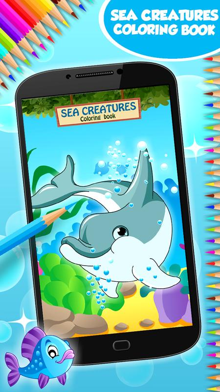 Dibujos marinos para colorear for Android - APK Download