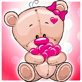 Sweet Teddy Coloring Book icon
