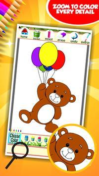 Sweet Teddy Coloring Book screenshot 11