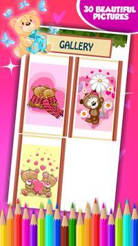 Sweet Teddy Coloring Book screenshot 7