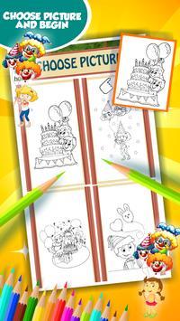 Party Coloring Book screenshot 10