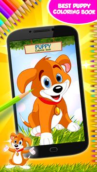 Puppy Coloring Book poster