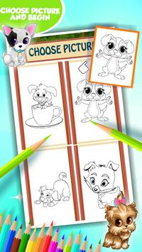 Puppy Coloring Book screenshot 10