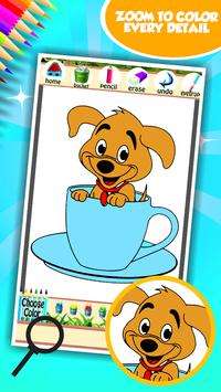 Puppy Coloring Book screenshot 11