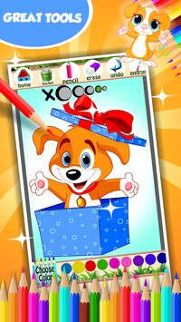 Puppy Coloring Book screenshot 12