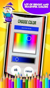 Wizard Coloring Book screenshot 13