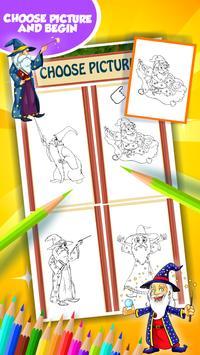 Wizard Coloring Book screenshot 10