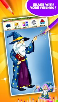 Wizard Coloring Book screenshot 14