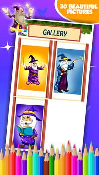 Wizard Coloring Book screenshot 15