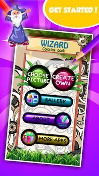 Wizard Coloring Book screenshot 1