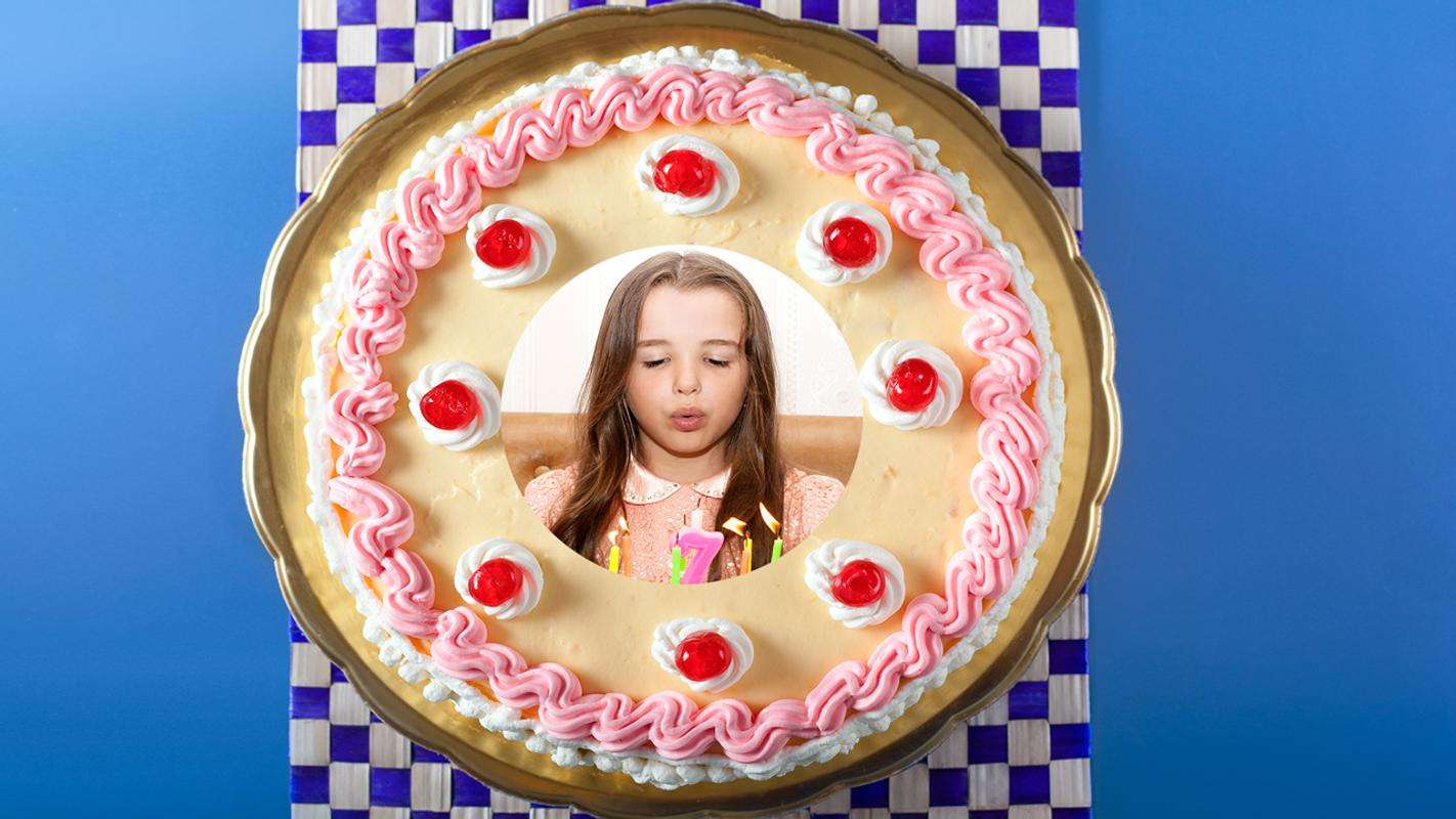Photo Frame On Birthday Cake Apk Download Free Photography App For