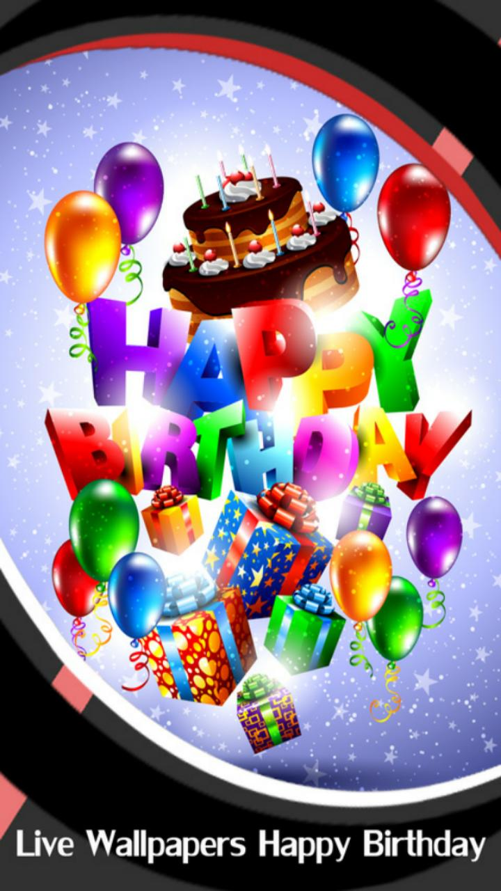Live Wallpapers Happy Birthday for Android   APK Download