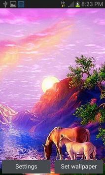 Thirsty Horses Live Wallpaper poster