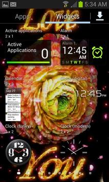 3D Flower Live Wallpaper apk screenshot