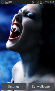 Vampire Teeth Live Wallpaper apk screenshot