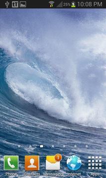Waves Live Wallpaper screenshot 1