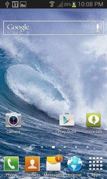 Waves Live Wallpaper screenshot 2