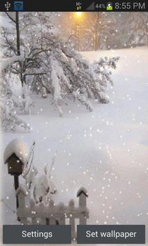White Snow Light LWP poster