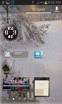 White Snow Light LWP apk screenshot