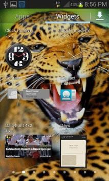 Wild Leopard Roar LWP apk screenshot