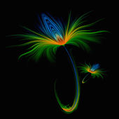 Abstract Flower LWP icon