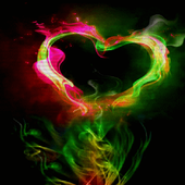 Abstract Heart Live Wallpaper icon