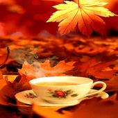 Autumn Tea Live Wallpaper icon