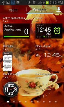 Autumn Tea Live Wallpaper screenshot 2