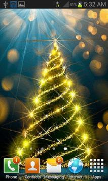 Beautiful Christmas Tree LWP apk screenshot
