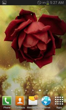 Beautiful Red Rose LWP screenshot 1