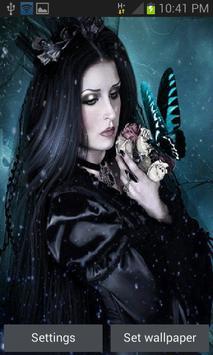 Black Beauty Butterfly LWP poster