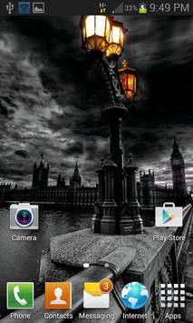 Black City Live Wallpaper apk screenshot