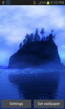 Blue Island Live Wallpaper poster