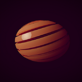 Brown Ball Live Wallpaper icon