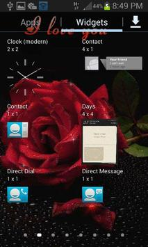 Brightly Rose Live Wallpaper apk screenshot