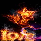Burning Love Live Wallpaper icon