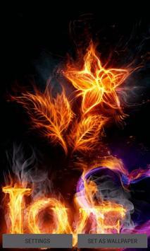 Burning Love Live Wallpaper poster
