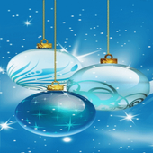 Christmas Bulbs Shine LWP icon