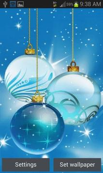 Christmas Bulbs Shine LWP poster