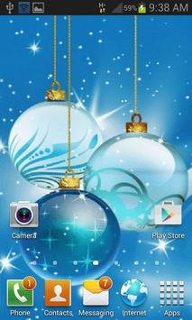 Christmas Bulbs Shine LWP screenshot 1
