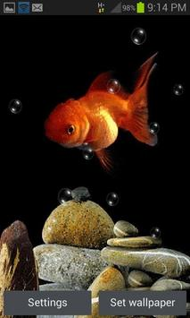 Cute Fish Bubble LWP poster