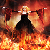 Dance On Fire LWP icon